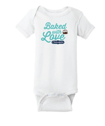 Baked With Love Baby Onesie