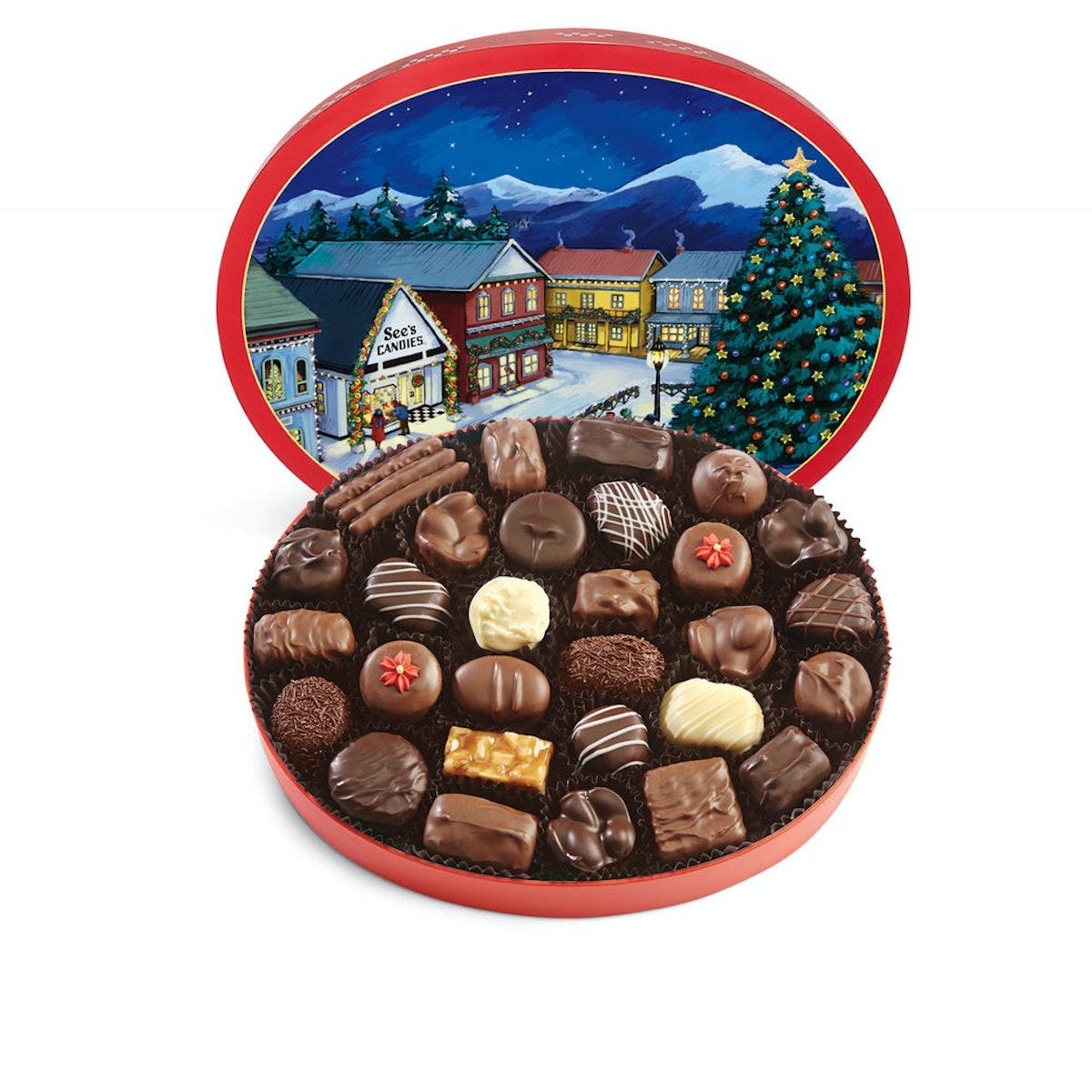 See's Candies Christmas Memories Box