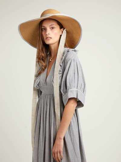 Arenal Wide-Brimmed Straw Hat
