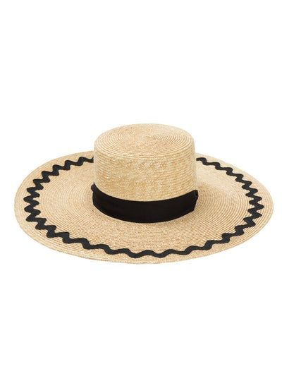 Tall Boater Hat