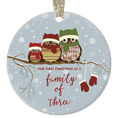 Family of Three Ornament