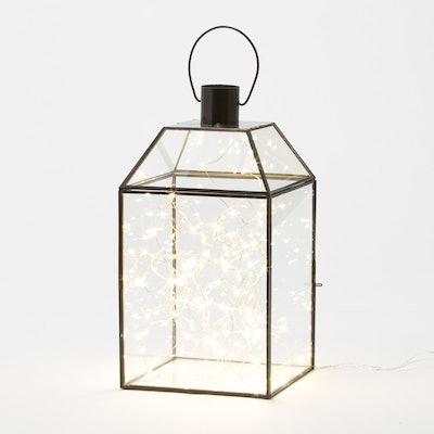 Belham Living 2 Lanterns with Mini String Lights