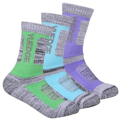 YUEDGE Women's Performance Socks (3 Pairs)