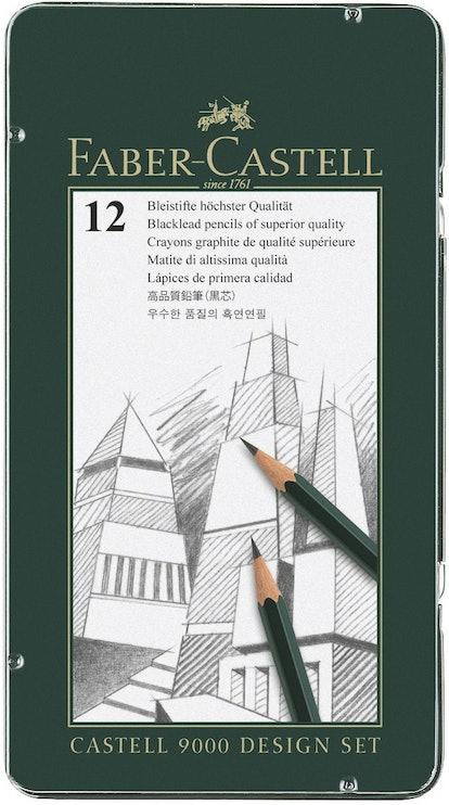 Faber-Castell 9000 Design Set of 12