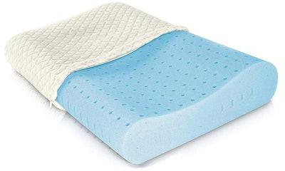 Ventilated Cooling Gel Memory Foam Pillow