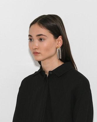 Cobalt Fringe Earrings
