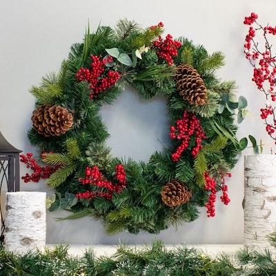 Belham Living 24 inch Mountain Trail Wreath