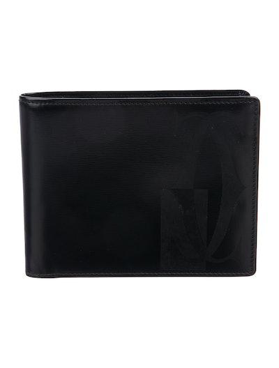 Cartier Interlocking C Bifold Leather Wallet