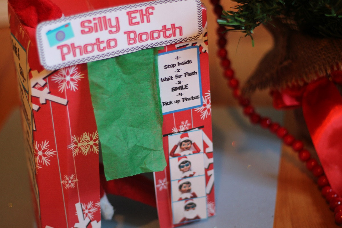 picture regarding Elf on the Shelf Printable Props named 13 Elf Upon The Shelf Printable Props, Thatll Deliver Styling
