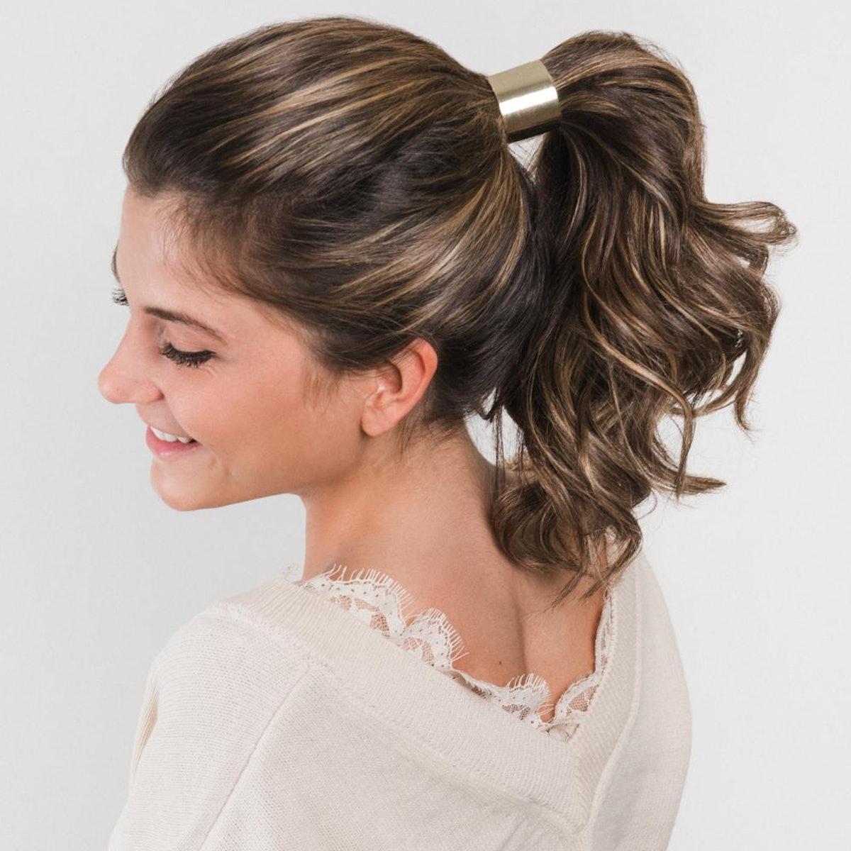 "Beachwaver Hair Cuff in ""Solid Gold"""