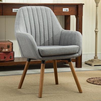 Tuchico Contemporary Fabric Accent Chair