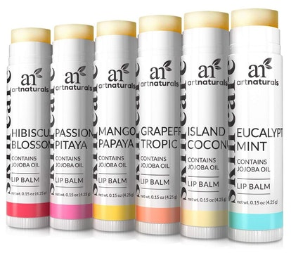 ArtNaturals Lip Balms  (6 Pack)