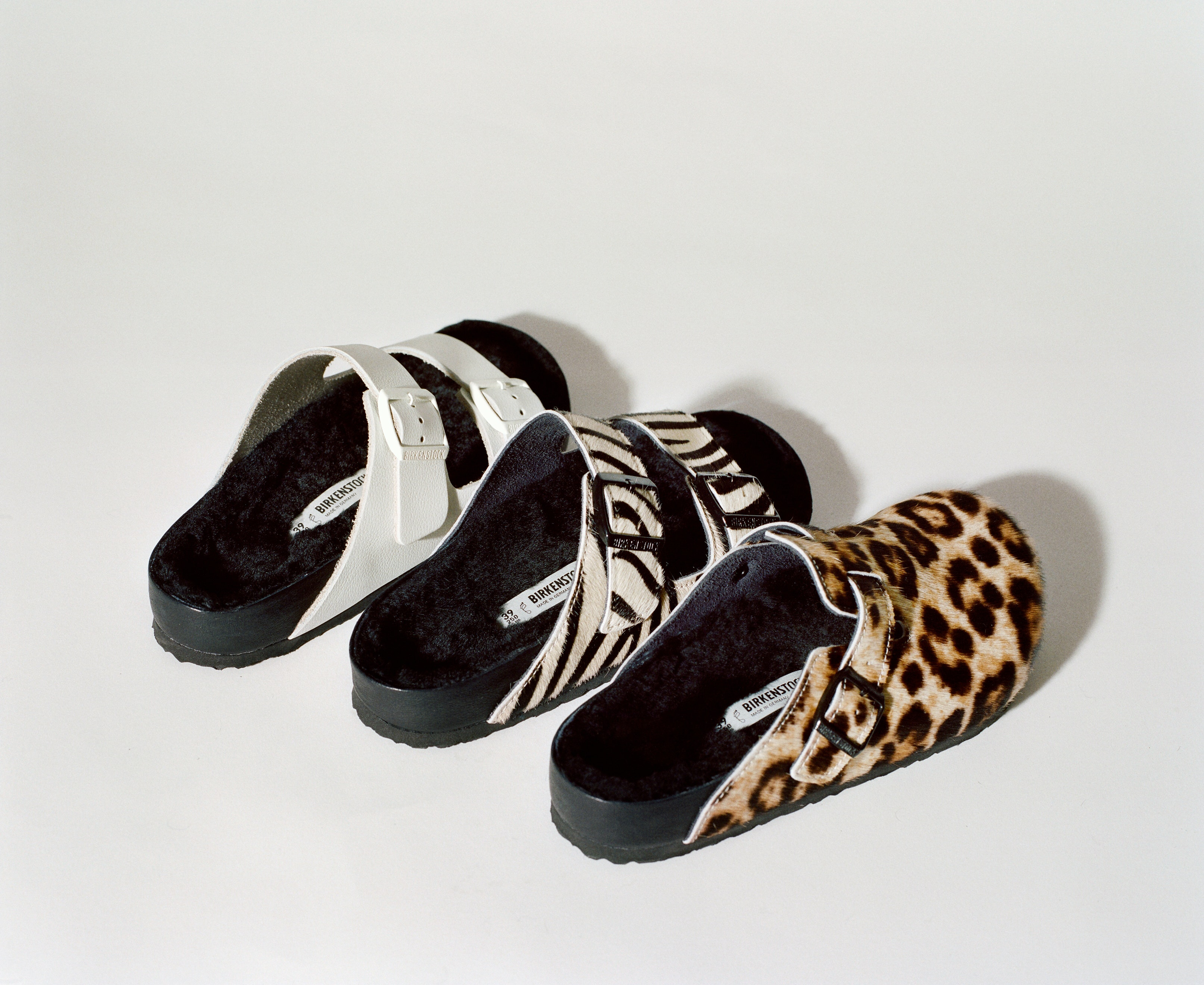 a6705e35045 Opening Ceremony s Birkenstock Collab Brings Animal Print To Your Favorite  Comfy Shoes