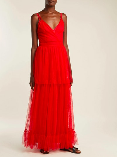 Mandy Tiered Tulle Dress