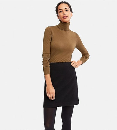 Extra Fine Merino Wool Turtleneck Sweater