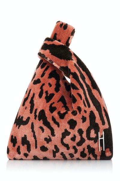 Hayward Mini Leopard Brocade Tote