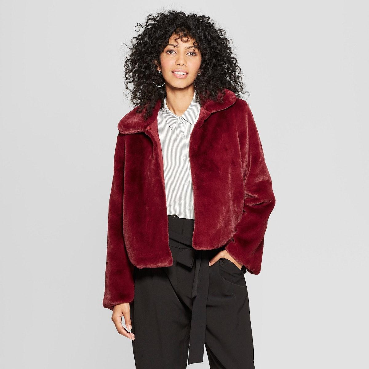 A New Day Women's Faux Fur Jacket