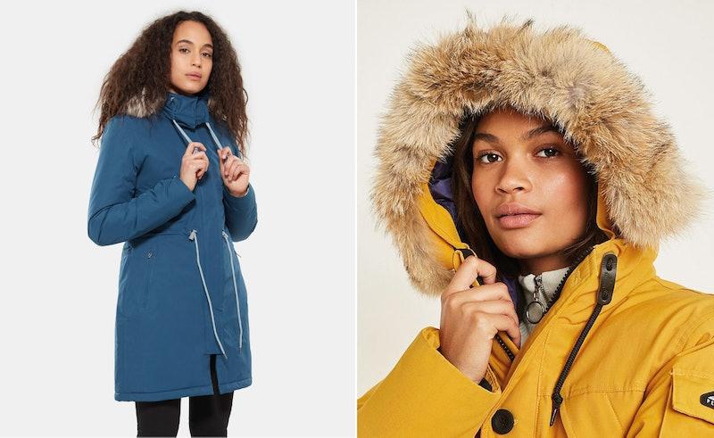 Colourful Parka Coats