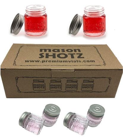 Premium Vials Mason Shotz (Set of 8)