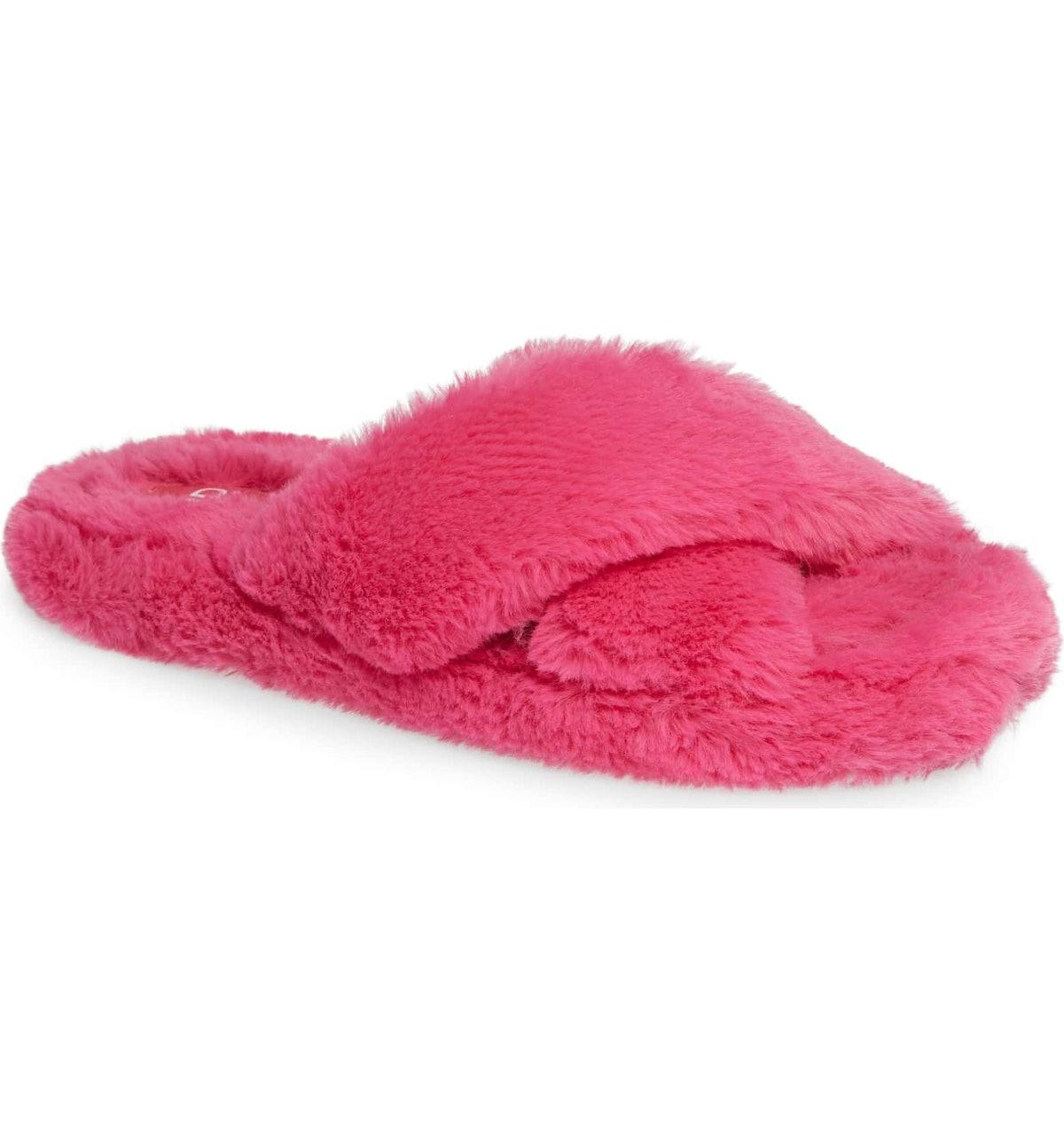 BP. Giaa Faux Fur Slipper