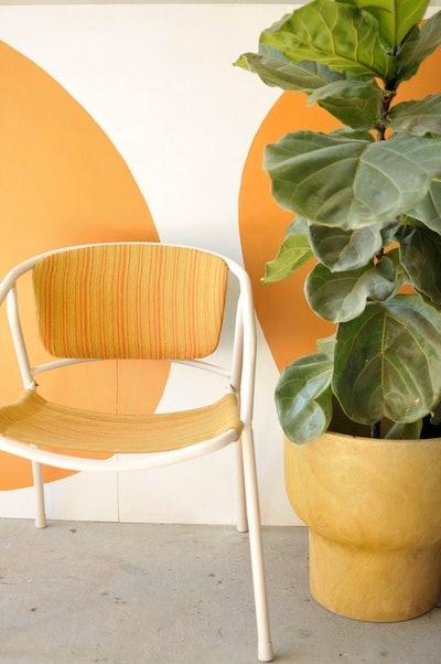 Midentury Metal Frame Chair