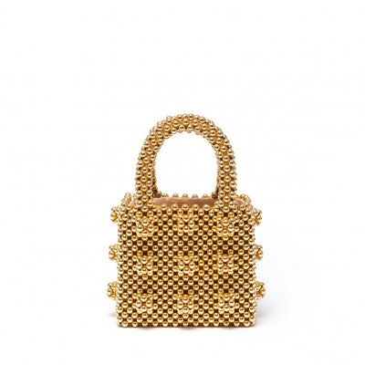 Mini Gold Bag