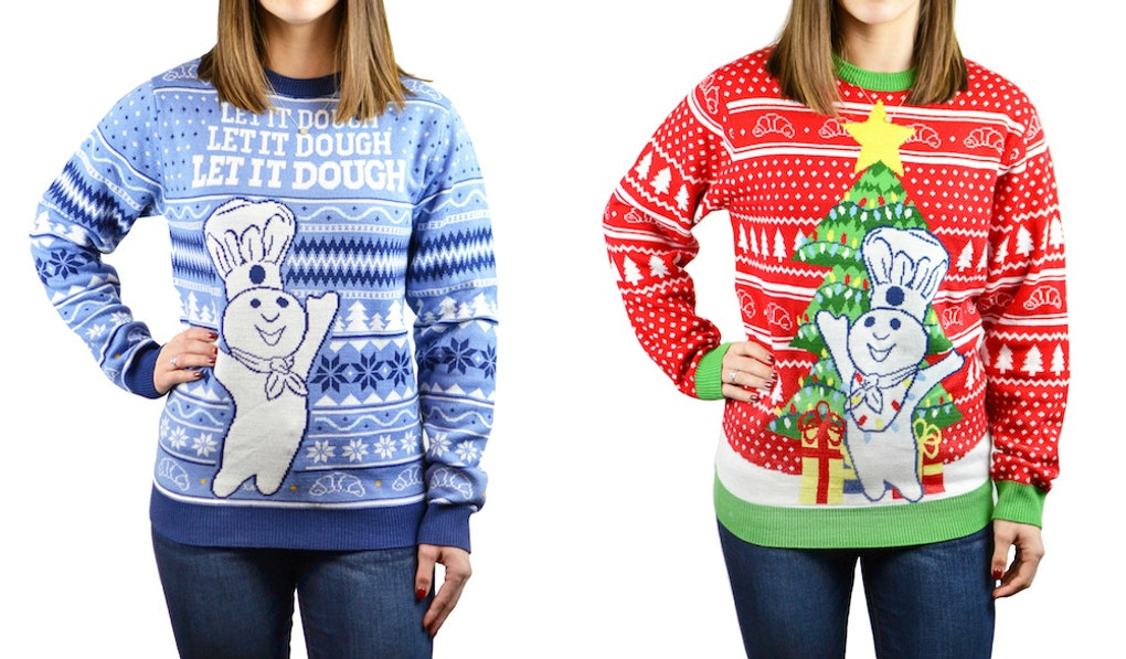 Pillsburys Ugly Sweater Line Is What Your Entire Family Needs This