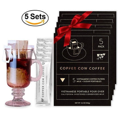 Copper Cow Coffee Pour-Over Packets (5 Pack)
