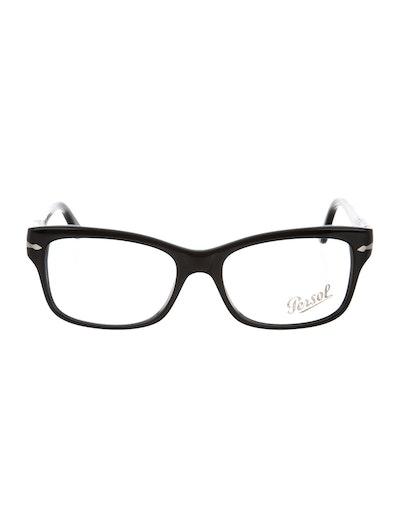 Persol Square Resin Eyeglasses