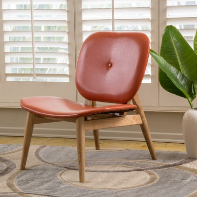 Mathers Leather Accent Chair