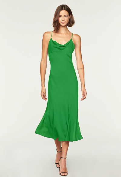 Stretch Silk Jillian Dress