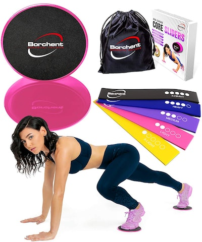 Borchent Home Abdominal Fitness Set, $19,
