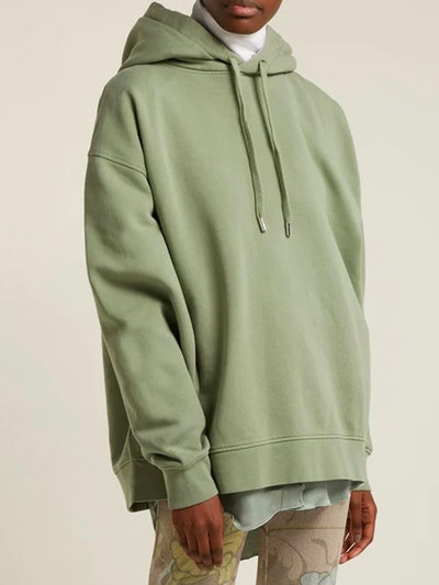 Yala Cotton-Jersey Hooded Sweatshirt