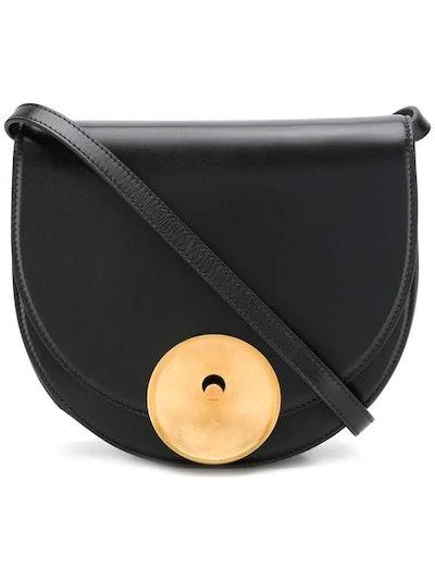 Monile Colour Black Shoulder Bag
