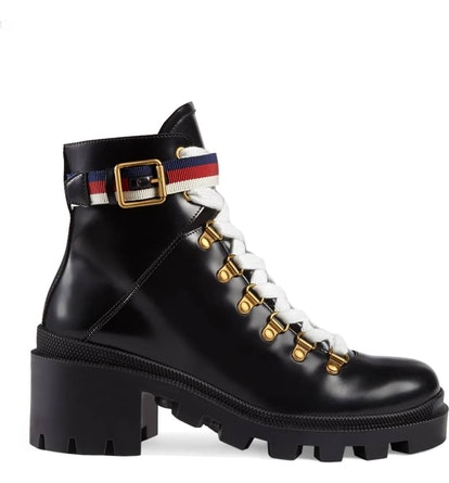 Trip Lug Sole Combat Boot