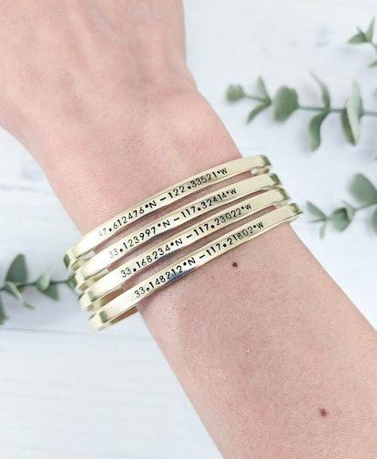 Custom Coordinates Friendship Bracelets