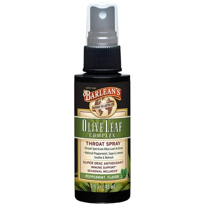 Barlean's Organic Oils Olive Leaf Throat Spray