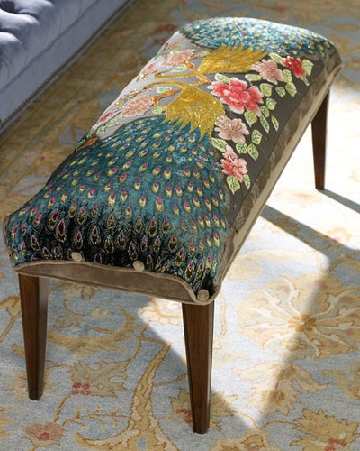 Haute House Peacock Bench