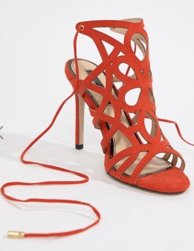 Miss Selfridge Caged Heeled Sandals