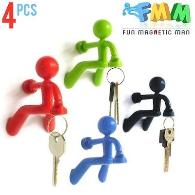 Fun Magnetic Man Fridge Key Holder