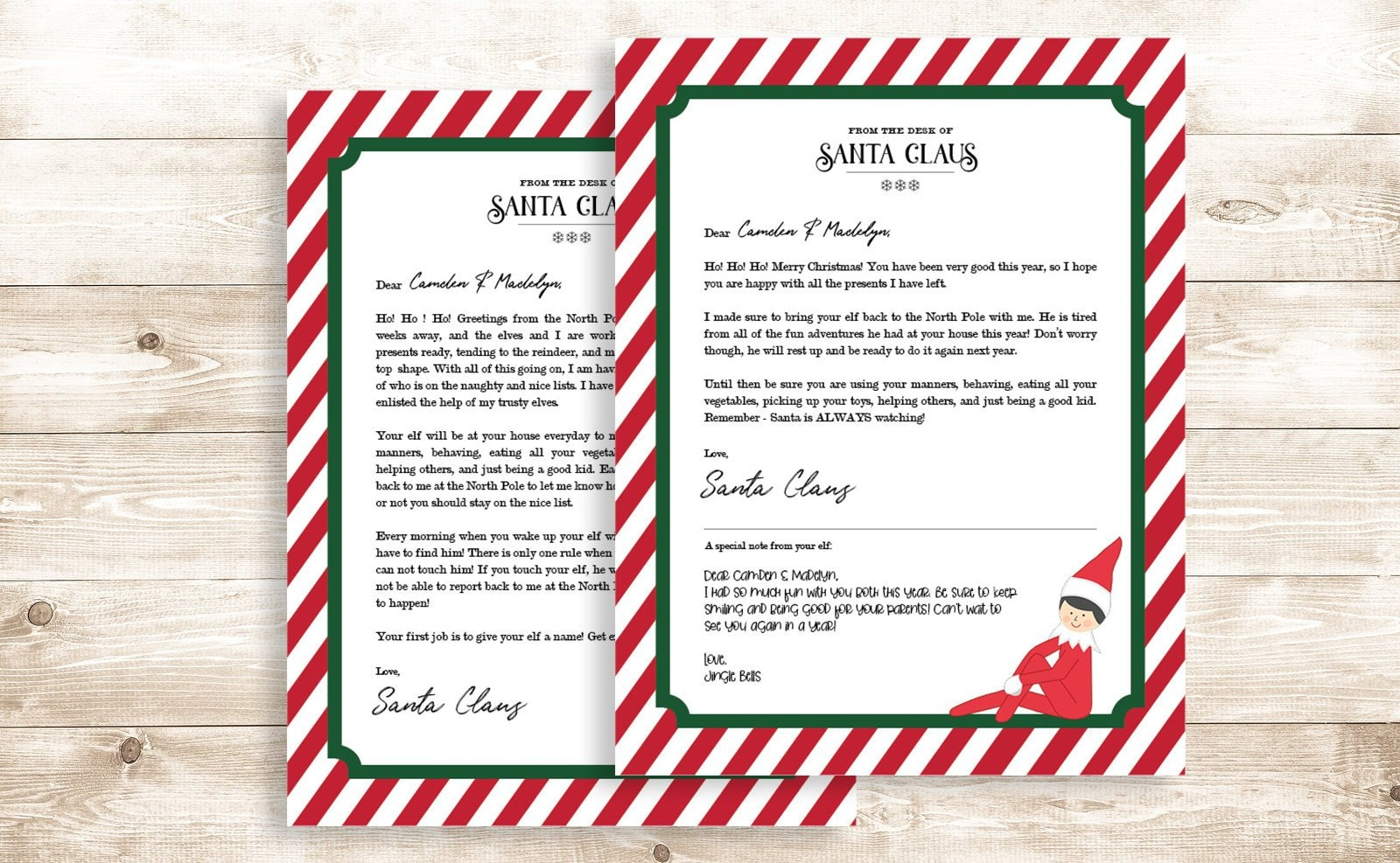 15 Elf On The Shelf Printable Letters From Santa That'll
