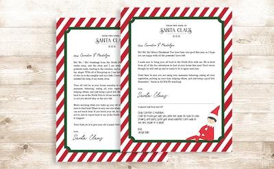 Elf Letter Pack