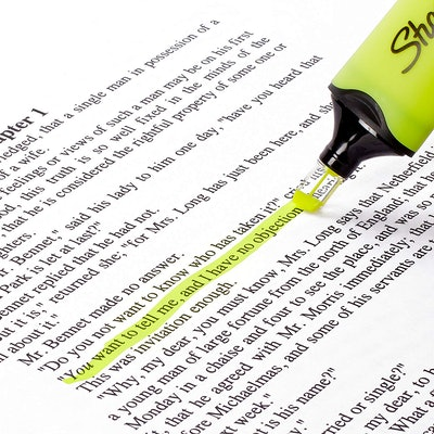 Sharpie Clear View Highlighters (Set of 4)