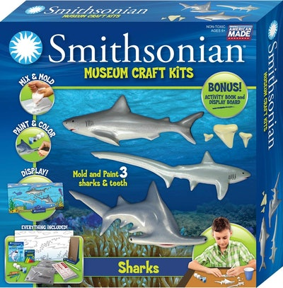 Smithsonia Ceramic Shark Craft Kit