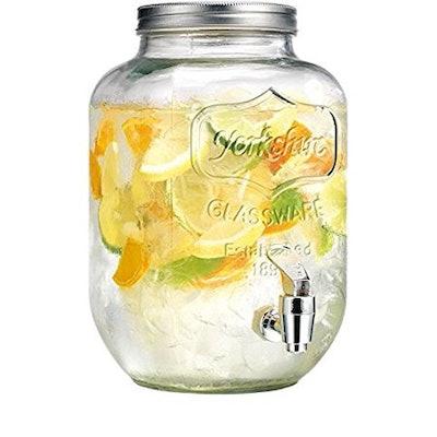 Circleware Yorkshire 2 Gallon Beverage Dispenser