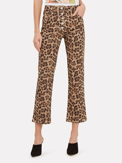 Junior Leopard Jeans