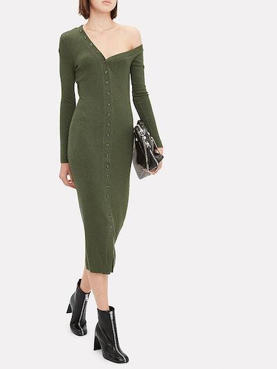 Tilted Midi Dress