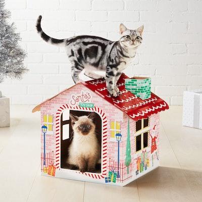 Santa's Cat Scratcher