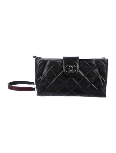 Chanel Coco Pleats Clutch