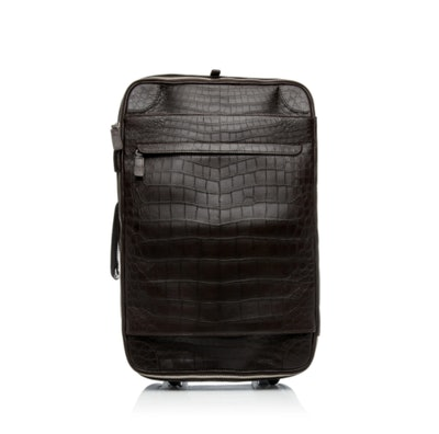 T. Anthony Crocodile Carry-On Suitcase